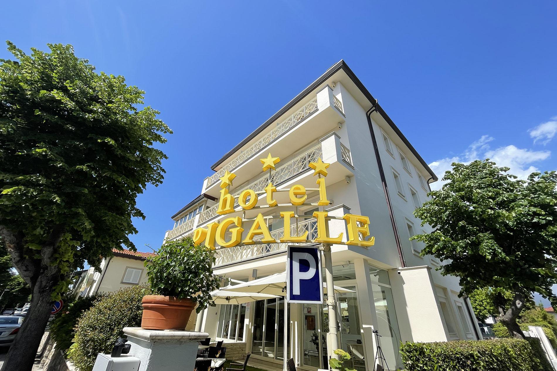 hotel 3 stelle forte dei marmi